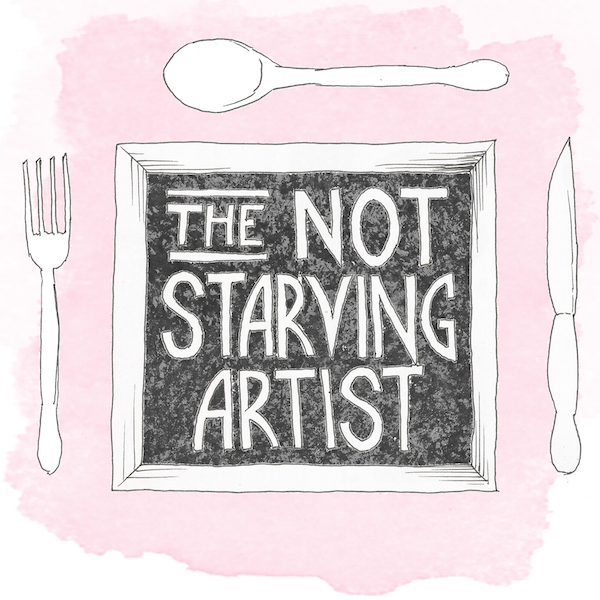 A day in the life of a not starving artist